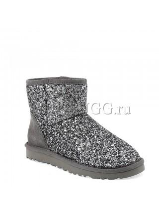 UGG Classic Mini Stardust Grey
