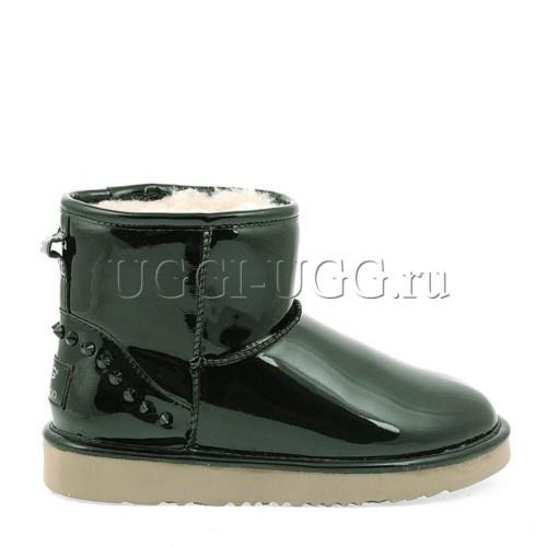 UGG Jimmy Choo Mini Spikes Green