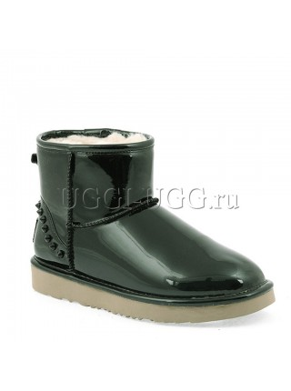 UGG Jimmy Choo Mini Spikes Green