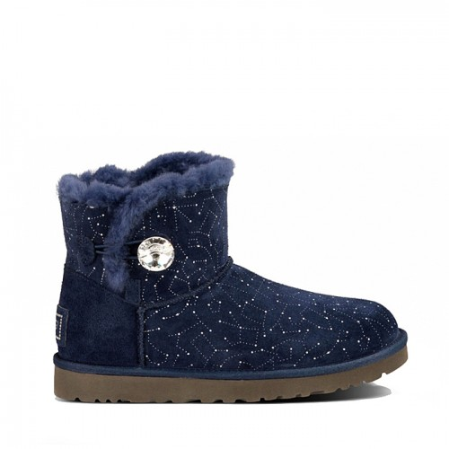 UGG mini Constellation Button Bling Navy