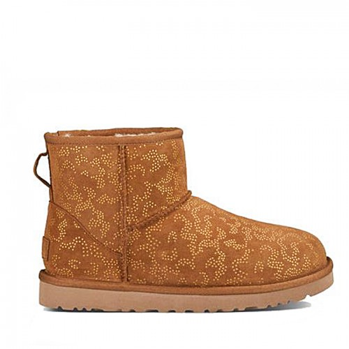 UGG Classic Mini Conifer Chestnut