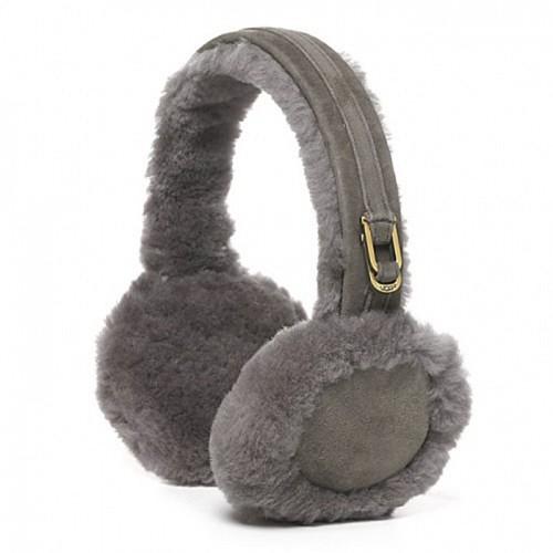 Меховые наушники серые UGG Earmuff Grey