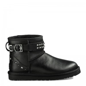 UGG Womens Neva Deco Studs Black