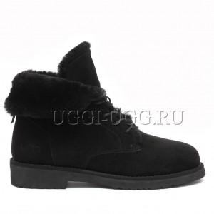 Угги ботинки черные UGG Quincy Boot Black