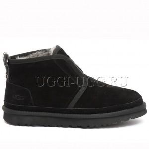 Женские ботинки угги черные UGG Neumel Flex Boot Black
