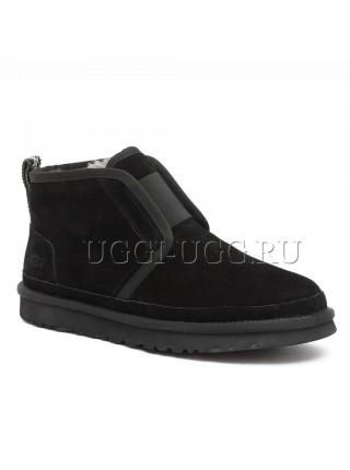 Мужские угги ботинки черные UGG Men Neumel Flex Black