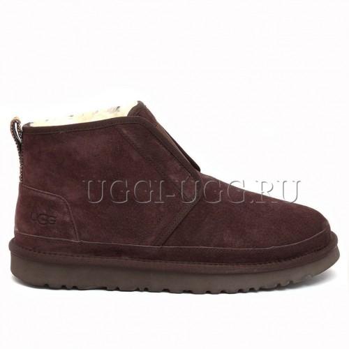 Мужские угги ботинки коричневые UGG Men Neumel Flex Chocolate