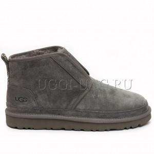 Женские ботинки угги серые UGG Neumel Flex Boot Grey