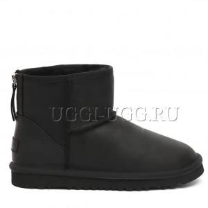 Мужские угги мини на молнии черные UGG One Zip Mini Boot Mens Black