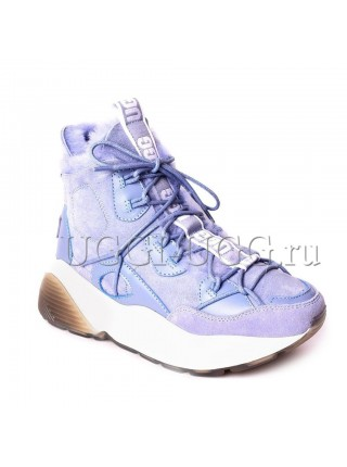 Женские угги кроссовки сиреневые UGG Boots Cheyenne Sky Blue