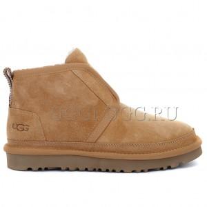 Мужские угги ботинки рыжие UGG Men Neumel Flex Chestnut