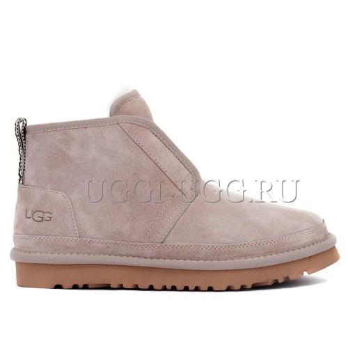 Женские ботинки угги розовые UGG Neumel Flex Boot Dusk