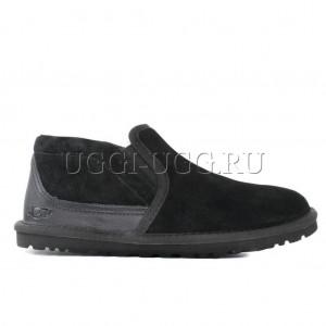 Мужские угги слиперы черные UGG Men's Tasman Black