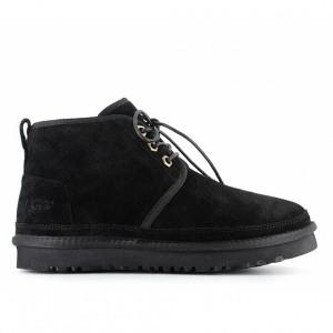 Женские ботинки угги черные UGG Neumel Boot Black