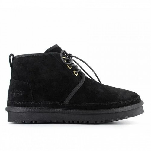 Женские ботинки угги замшевые черные UGG Neumel Boot Black