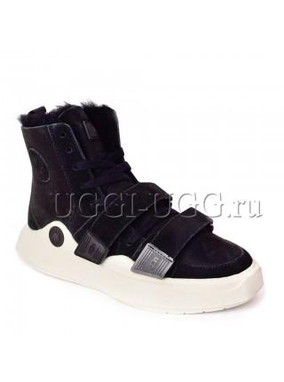 Женские угги ботинки черные UGG Boots Sioux Black