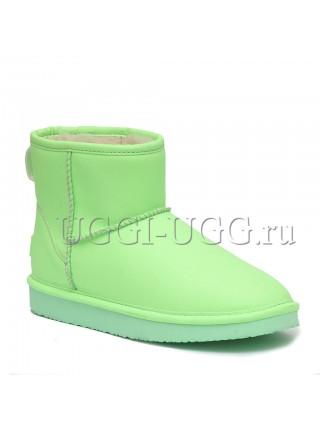 Мини угги ярко-зеленые UGG Mini Candy Night Green