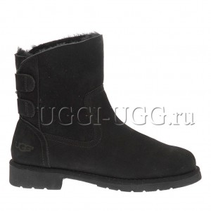 Женские угги ботильоны черные UGG Naiyah Boot Black