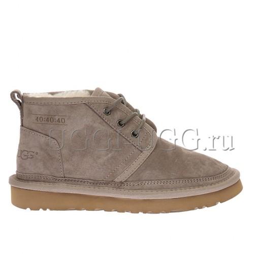 Женские ботинки угги бежевые замшевые UGG Neumel Boot Capuccino