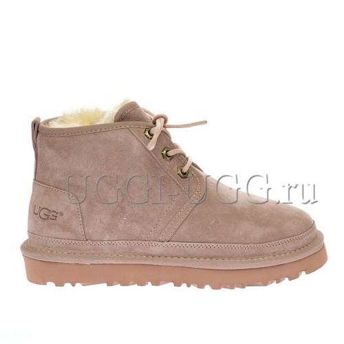 Женские ботинки угги розовые замшевые UGG Neumel Boot Dusk
