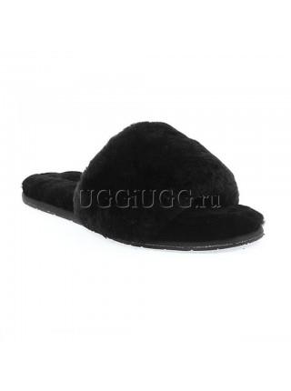 UGG Fluff Slide Black