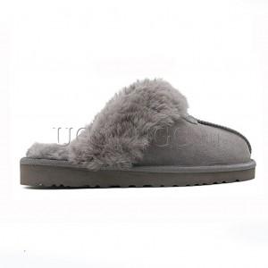 Тапочки угги серые UGG Australia Slippers Scufette Grey