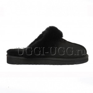 Тапочки угги черные UGG Australia Slippers Scufette Black