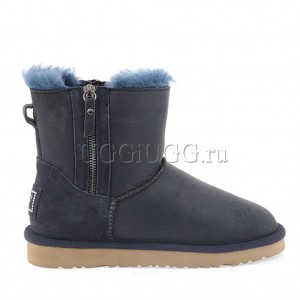 UGG Mini Double Zip Navy