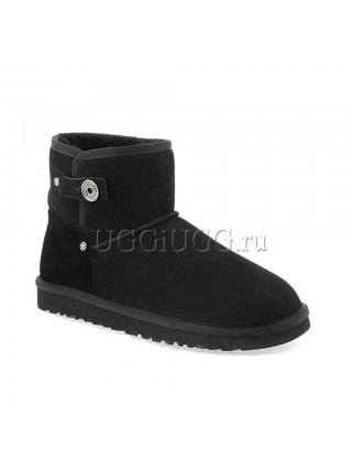UGG Men Beni Black Suede