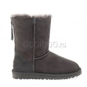UGG Short Zip Grey