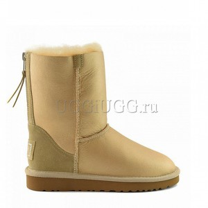 UGG Short Zip Soft Gold